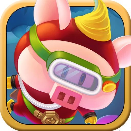 小豬尋寶記 - 休閒簡單好玩可愛Q版海底  跑酷 冒險 小遊戲 限時免費