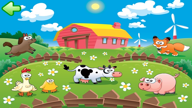 Animal sounds puzzle for kids full version screenshot-3