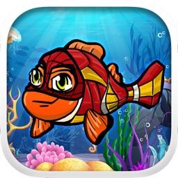 Fish Cartoon Heroes Emoji Pic & Stickers Keyboard