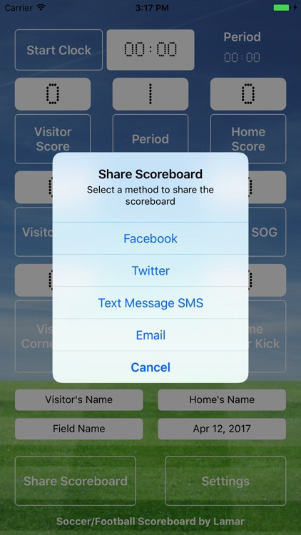 Soccer Football Scoreboard Pro - Game Scorekeeper screenshot-1