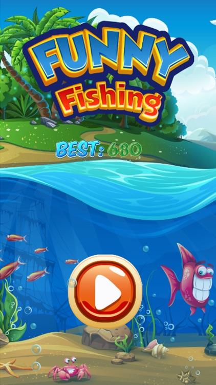 Funny Fishing : big fish Hunting games