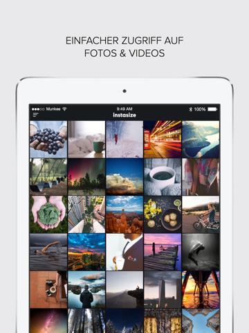 InstaSize Photo & Pic Editor screenshot 1