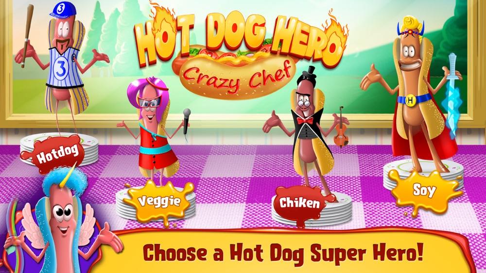 Hot Dog Hero Adventure