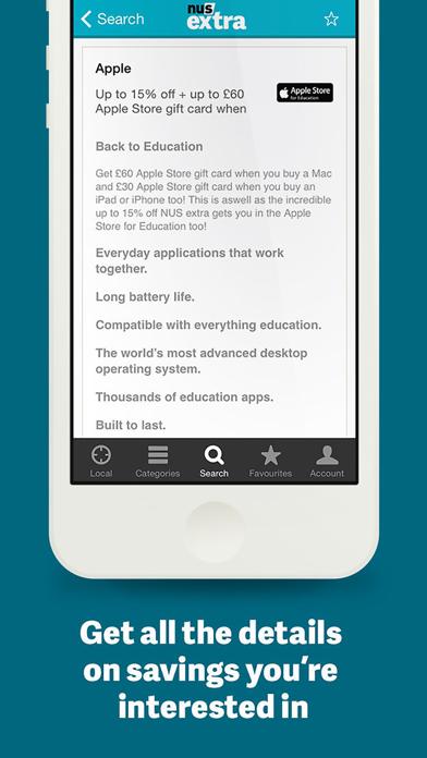 NUS extra – Discount Companion screenshot four