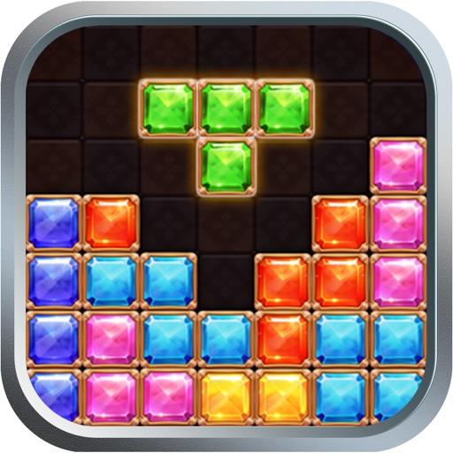 Блок-головоломка, тетрис: классический кирпич