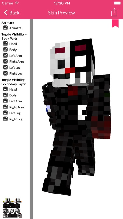 FNAF Skins For Minecraft Edition screenshot-2