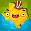 50 States (Ad Free) - Top Education Stack Games Reviews