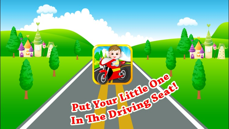 Baby Bike - Driving Role Play screenshot-4