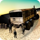 Heavy Off-road Army Truck Driver Parking Simulator icon