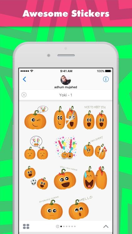 Yoki - 1 stickers by ARTDOM
