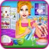 点击获取Dishes Cleaning Girls Games
