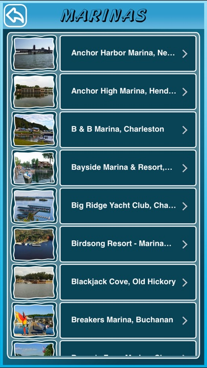 Tennessee State Marinas