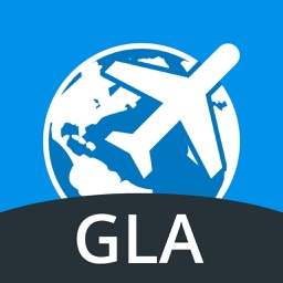 Glasgow Travel Guide with Offline Street Map
