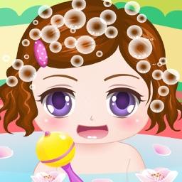 Cute Baby Bathing Game HD