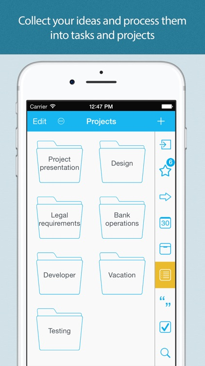 To Do List - GTD productivity app for iPhone