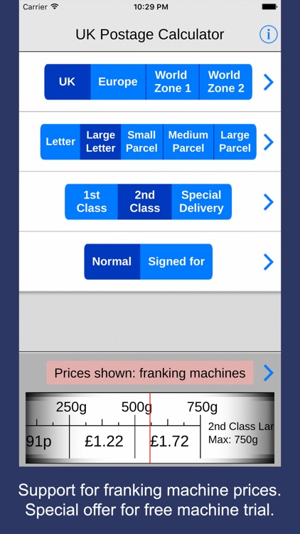 UK Postage Calculator 2017 for eBay and Royal Mail