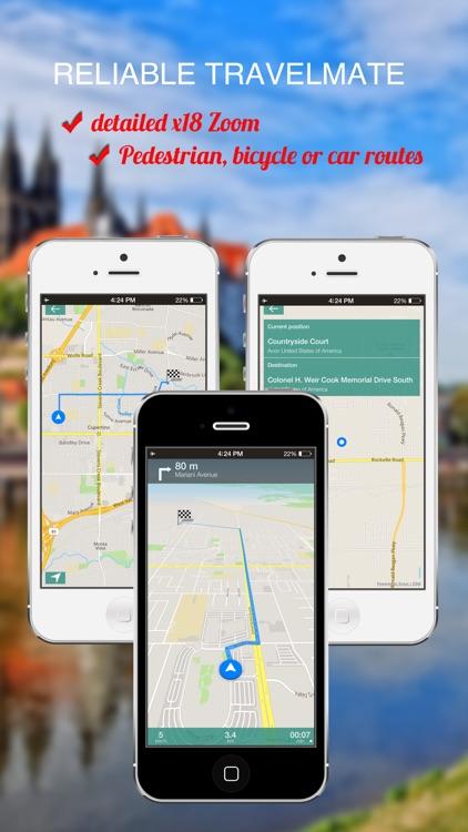 Surrey, UK : Offline GPS Navigation
