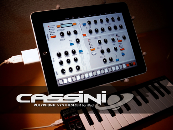 Screenshot #4 pour CASSINI Synthesizer for iPad