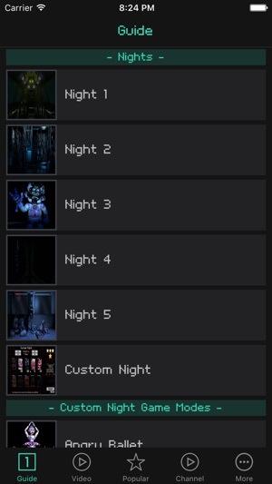 Guides For Five Nights At Freddy's Sister Location on the App Store
