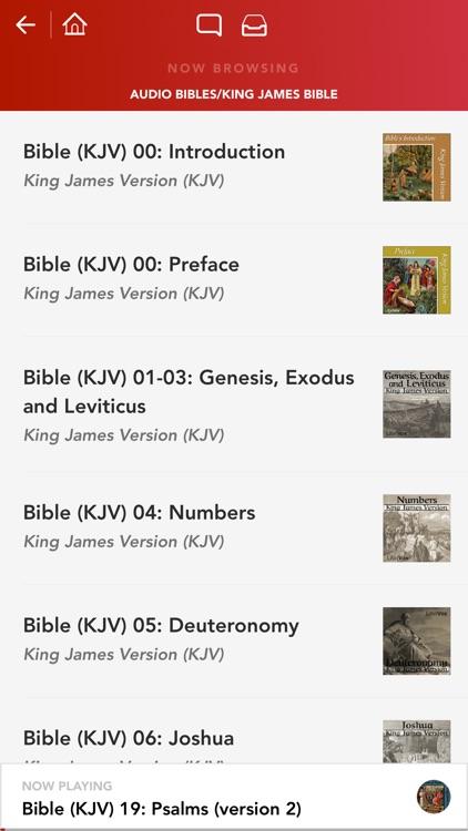 Audio Bibles - 15 Holy Bible Audiobooks screenshot-3