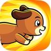 可爱狗跑步者 - 可爱狗在幻想冒险地跑步