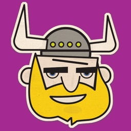Vikings Head Sticker Pack
