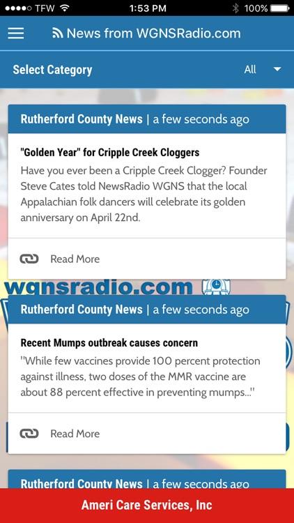 WGNS News Radio screenshot-3