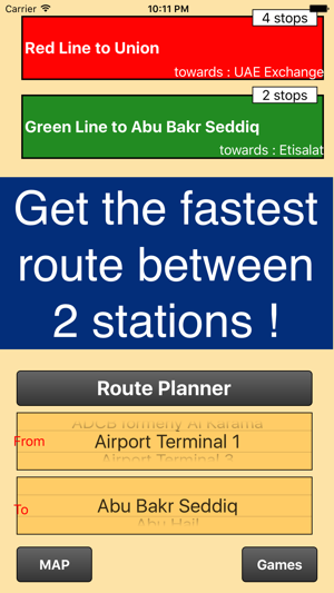 Dubai Metro Map and route planner on the App Store