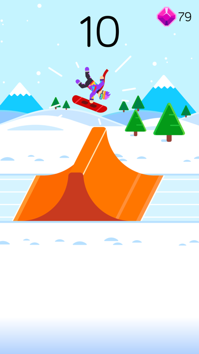 Ketchapp Winter Sports screenshot 2