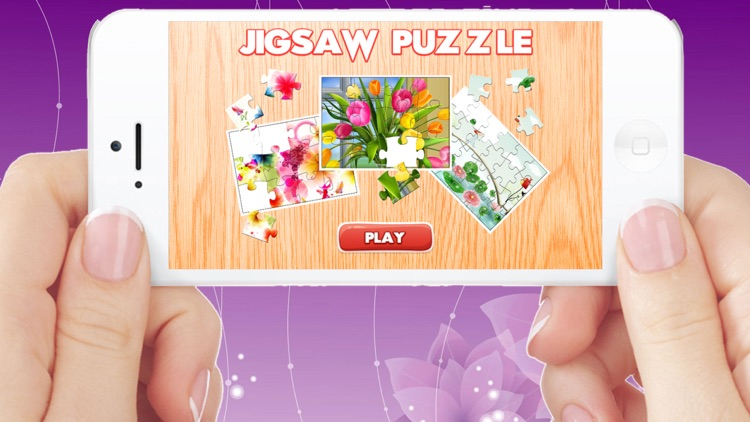 Flowers Jigsaw Puzzles for Adults Collection HD