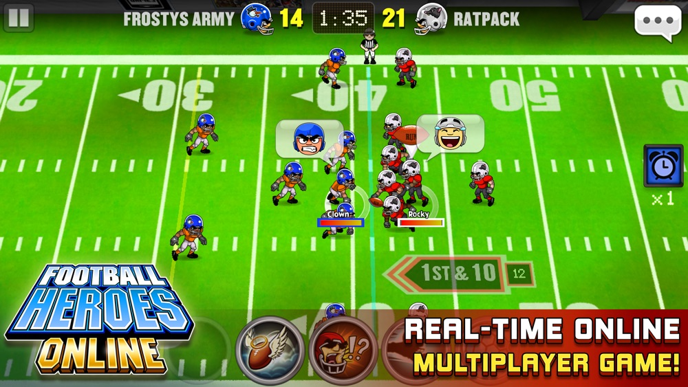 Football Heroes Online hack tool