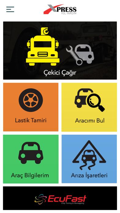 Xpress Yol Yardım screenshot one