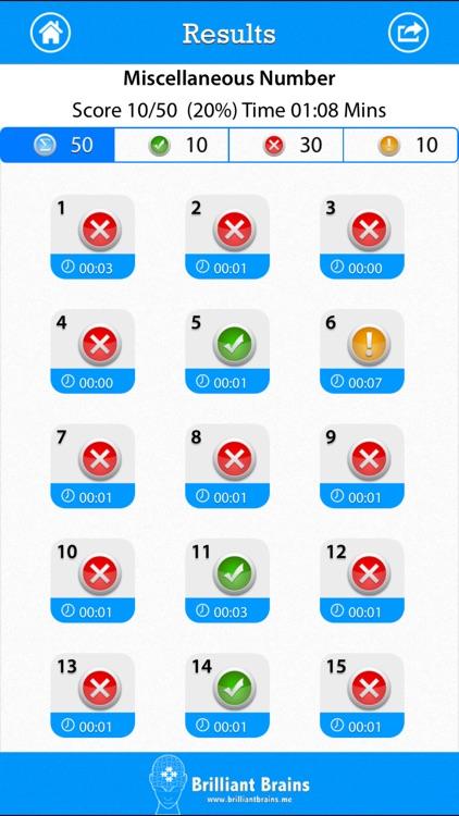 SAT Math : Number & Operations Lite screenshot-3