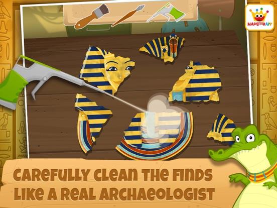 Archeoloog Egypte: Educatieve spelletjes kinderen iPad app afbeelding 3