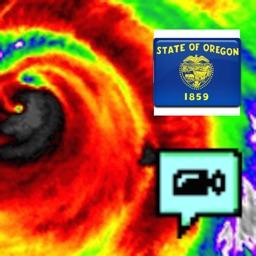 Oregon NOAA Radar with Traffic Cameras 3D Pro