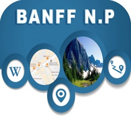 Banff National Park Offline City Maps Navigation