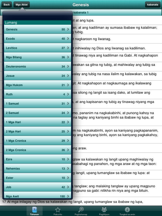 Holy Bible in Filipino Offline screenshot-3