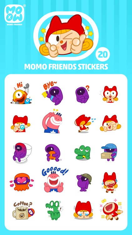 MOMO FRIENDS screenshot-3