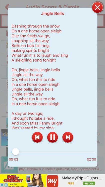 Christmas Songs and Carols screenshot-3