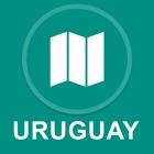Uruguay : Desconectado de navegacion GPS icon