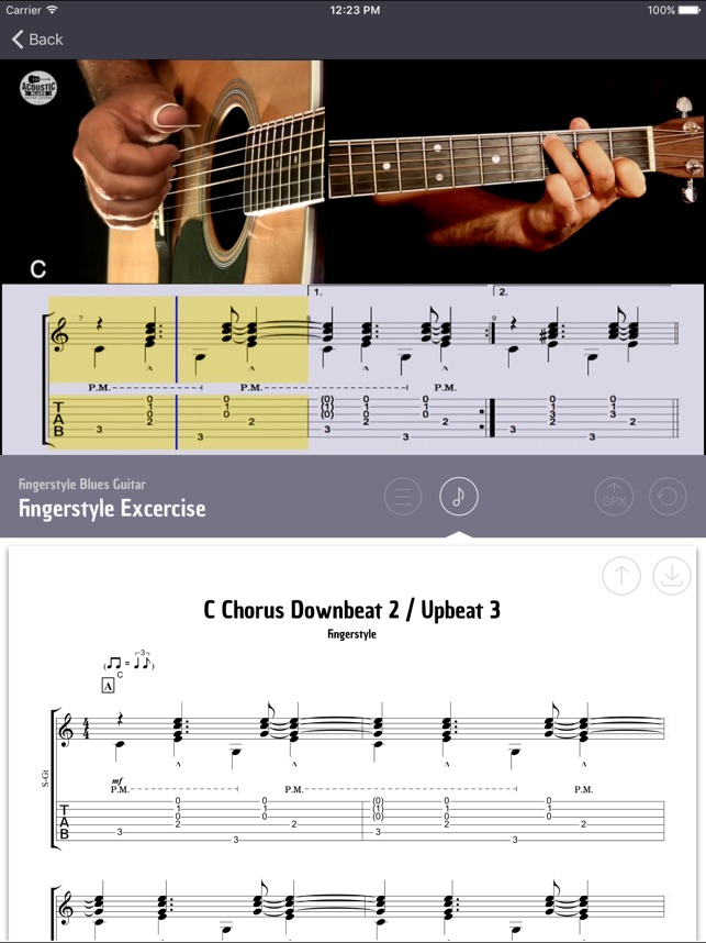 Acoustic Blues Guitar -Lessons on the App Store