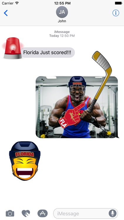 Florida Hockey Stickers & Emojis screenshot-1