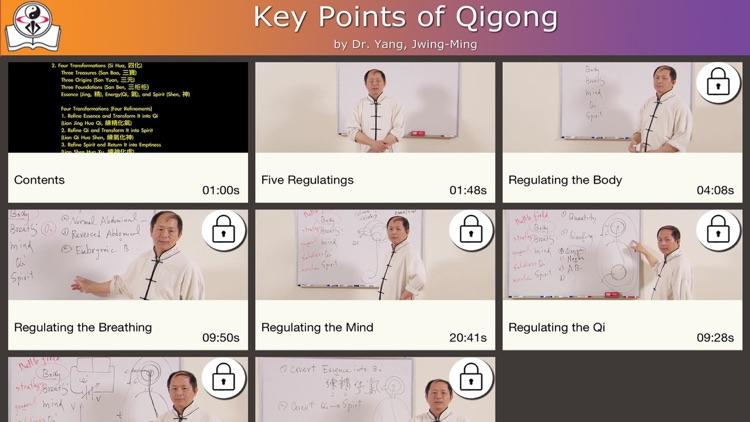 Qigong Keypoints Video Lesson