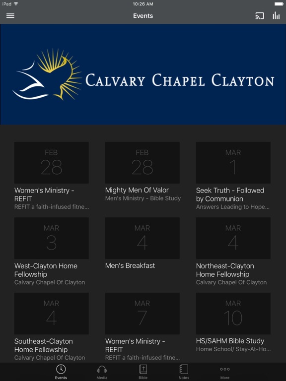Calvary Chapel of Clayton - NC screenshot 4