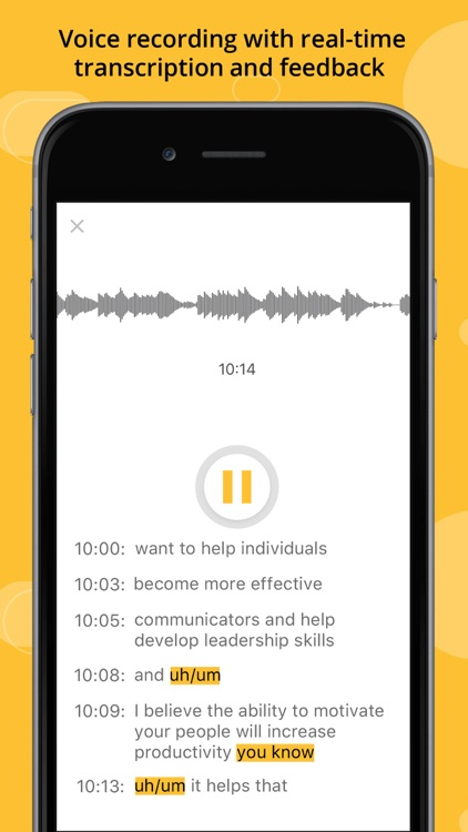 PitchPal - Improve Communication & Public Speaking
