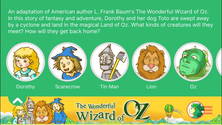 The Wizard of Oz - Little Fox Storybook screenshot-2