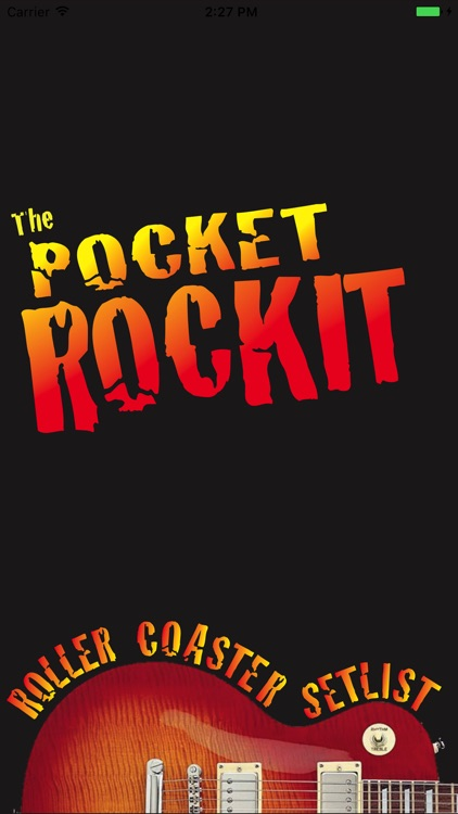 The Pocket RockIt Roller Coaster Setlist