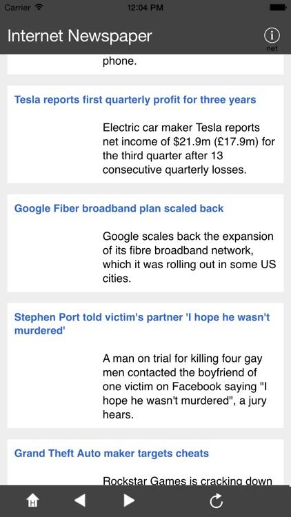 Internet News-Paper