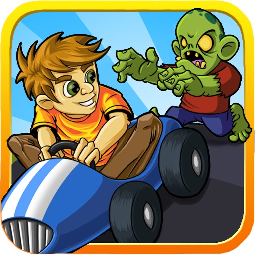 Zombie Go Kart - Tricky Racing icon