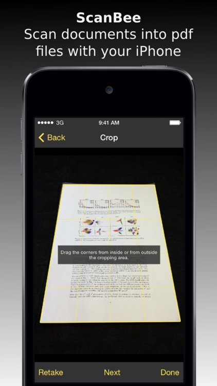 ScanBee - Scanner & copier to digitize your papers screenshot-0